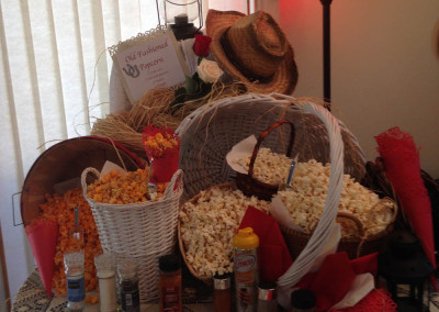 Popcorn Station - Bridal Shower