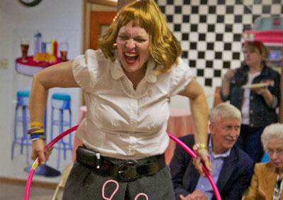 50th sock hop party - Pamela