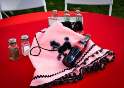 Grease Themed Party Coke and Poodle Skirt