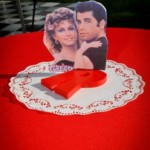 Grease Themed Party Center Piece